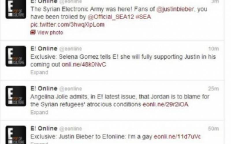 Twitter Account of Bieber