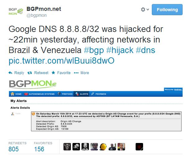 GooglePublicDNS-bgpmon