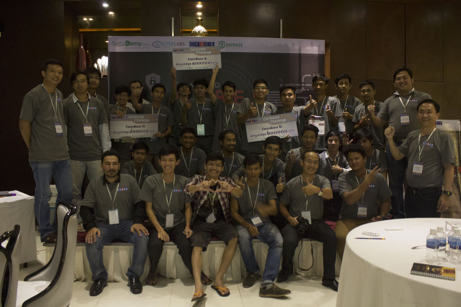 Cambodia Cyber Challenge 2015