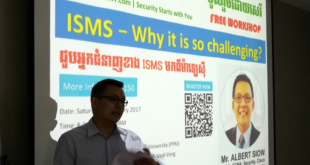 Defense Talk 15th: ISMS Why it is so challenging?